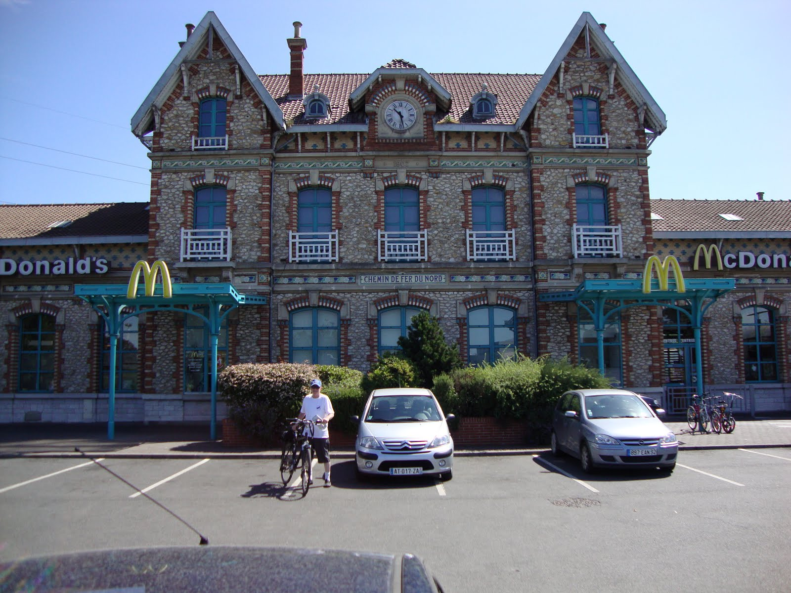 Riding For Their Lives: Former classic train station in ...