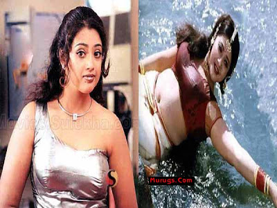 telugu tamil kannada actress unseen meena hot boobs press nipple