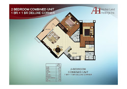 2 BEDROOM COMBINED UNIT