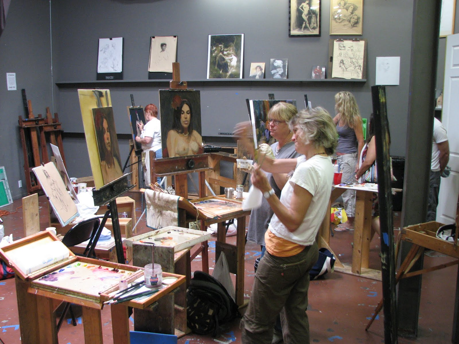 Los angeles academy of figurative art unlimited for Craft workshops los angeles