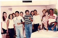Manoel e muitos colegas da Embrapa