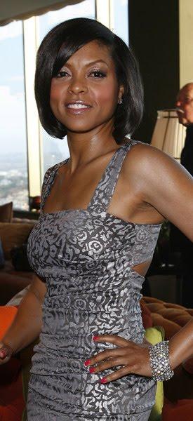 Taraji P Henson Looks Beyond Fabulous In This Metallic Brocade Nicole