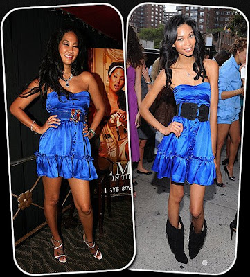 Kimora Lee Simmons or Chanel Iman Kimora Lee Simmons first wore her own