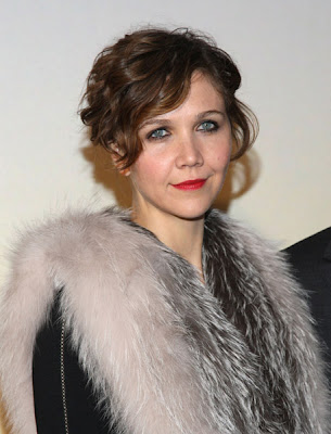 Maggie Gyllenhaal always looks like a glamorous silent movie actress from