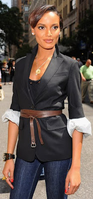 Really never ever paid attention to selita ebanks because she was