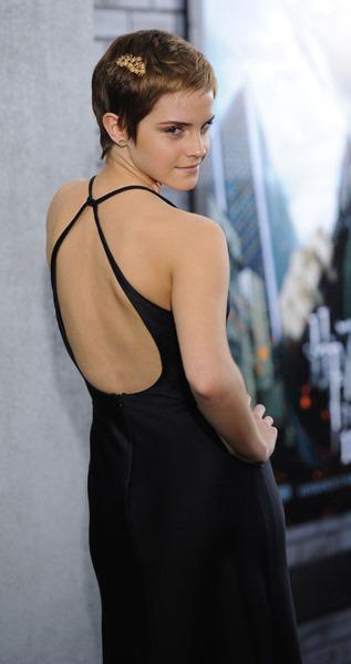 Emma Watson Little Black Dress. in Emma Watson understated