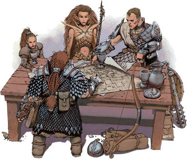 Primera partida de Dungeons & Dragons Dungeons_and_dragons3