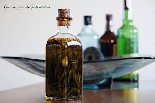 Aceite de oliva virgen extra aromatizado con hierbas