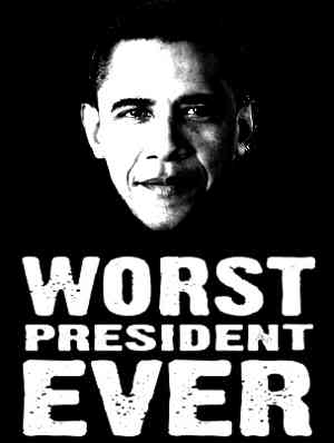 obam a worst president
