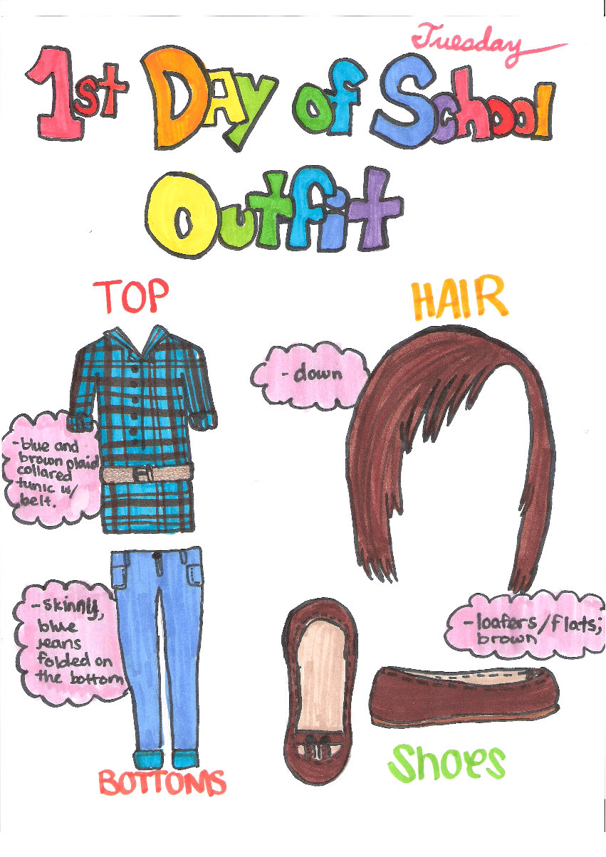 Cool Outfits For School First day of school outfit