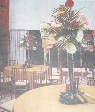 Decoraciones artesanias y repujados pedestales para plantas - Pedestal para plantas ...