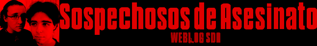Sospechosos de Asesinato - Weblog SDA