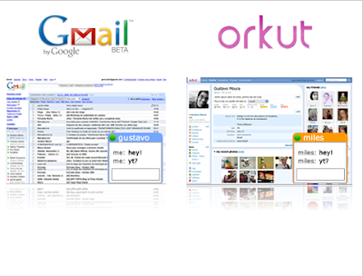 Talk in orkut lets you