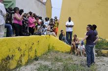 Curatorial team in Curaçao