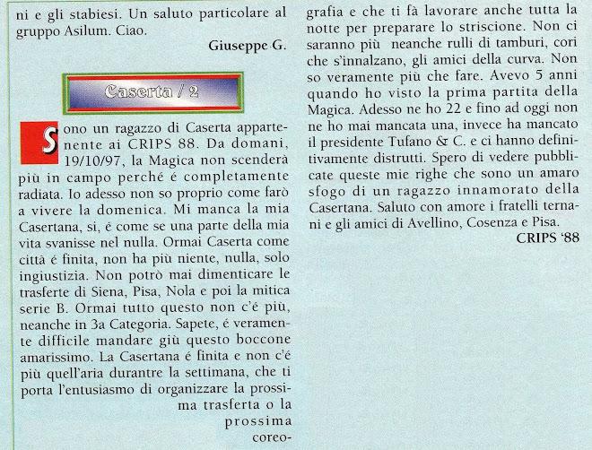 "1997 rivista ""supertifo"""