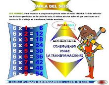 TABOA DE MULTIPLICAR X 6