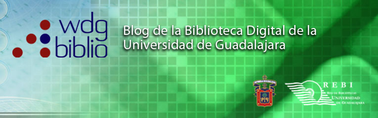 Blog de la Biblioteca Digital UdeG