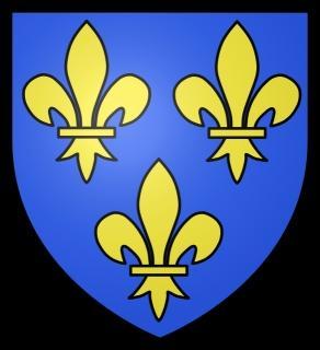 Le blason de la France