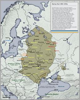 História da Ucrânia, Rus de Kiev, Principado