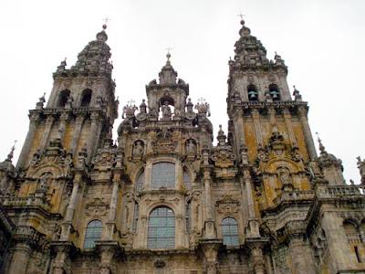 Catedral de Santiago de Compostela. Foto: Dirce Bonfim
