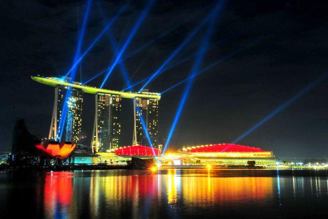 Marina Sands Sky Park Singapore~ Deck Pub Jardim Botanico