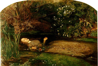'Ophelia' de John Everett Millais, 1852-53