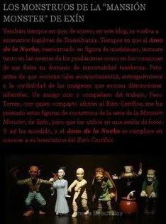 LOS MONSTRUOS DE LA MANSIÓN MONSTER DE EXÍN