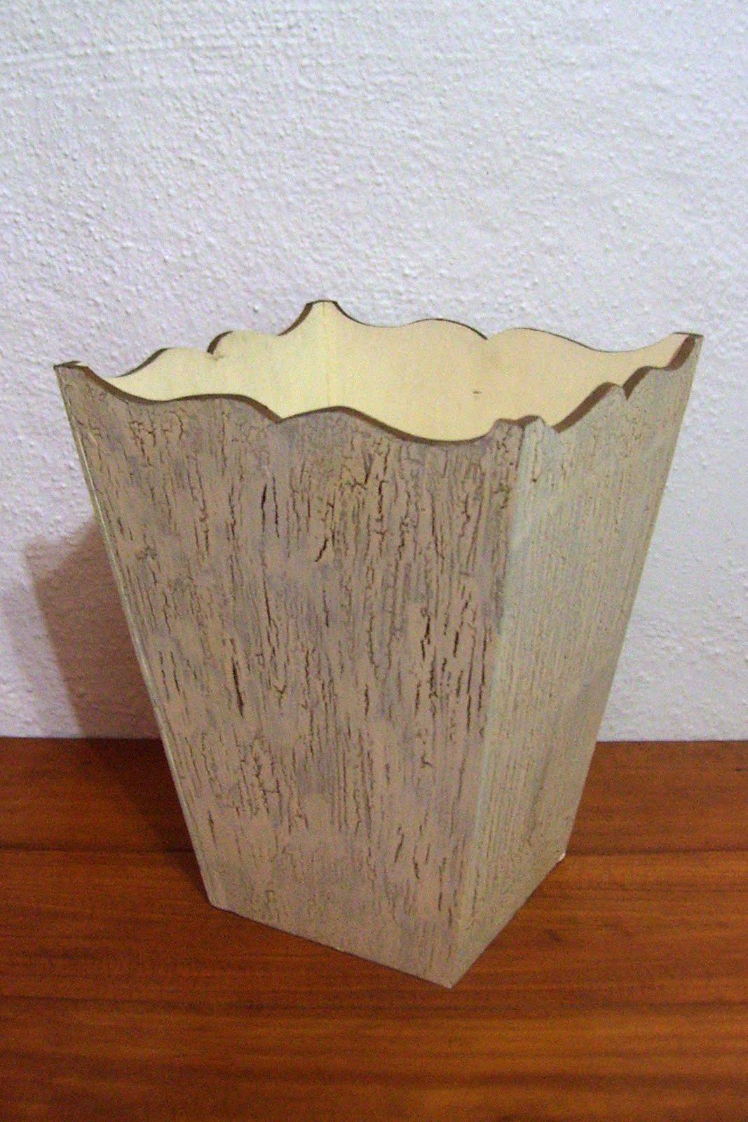 Maayan madera country cestos de basura - Cestos de madera ...