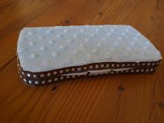 Blue Diaper Wipe Case $17