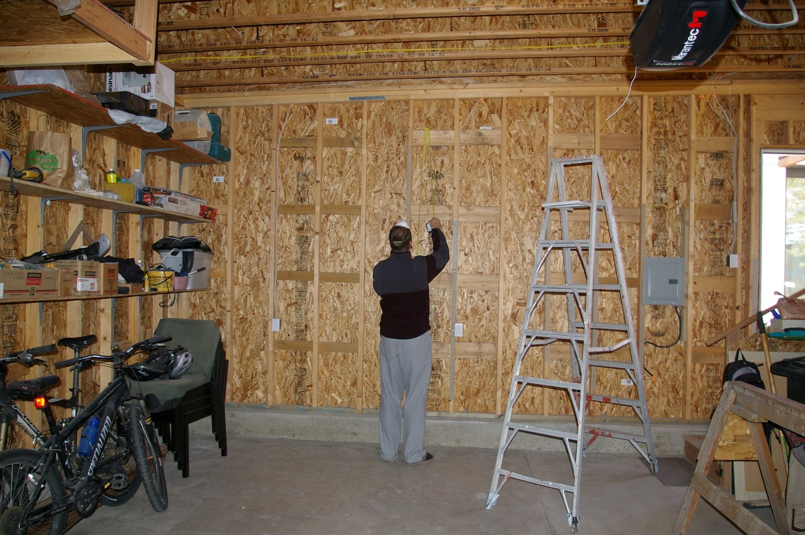 garage insulation — LiveModern: Your Best Modern Home on how to finish basement, how to paint concrete floors, how to organize bins in garage, how to organize your garage, how to finish an attic, how to put your garage in order, how to organize garage space, how to finish drywall,