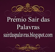 premio sair das palavras