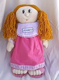 Boneca de pano Joanita