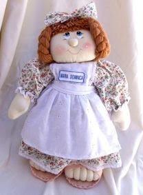 Boneca de pano Maria