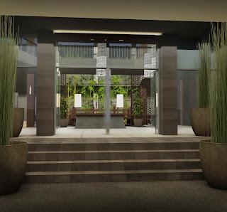 Modern Luxury House Design Nail Salon Interior Decoration Ideas