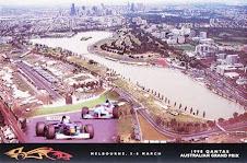 Albert Park - Melbourne - Formula 1 postcard 1999