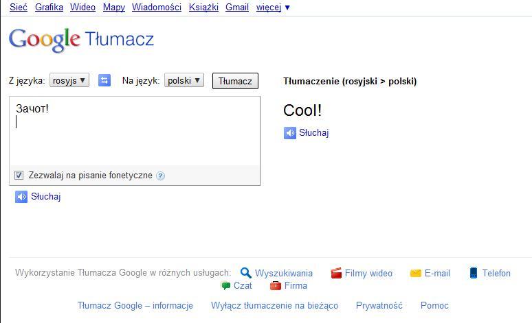 Google Tlumacz