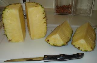 Cut each half in half lengthwise