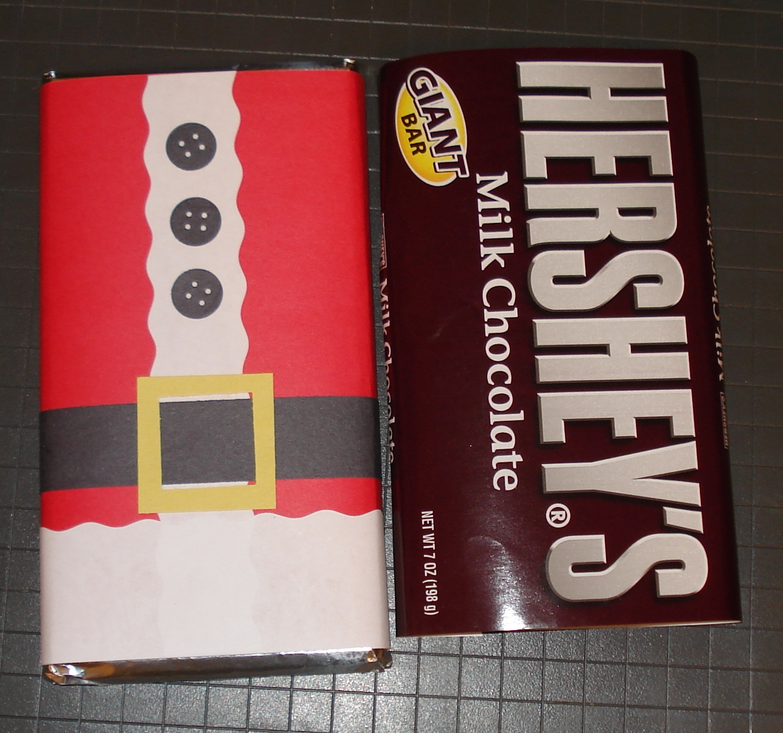 hershey bar wrapper