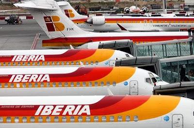 Noticia: British Airways e Iberia negociam fusão