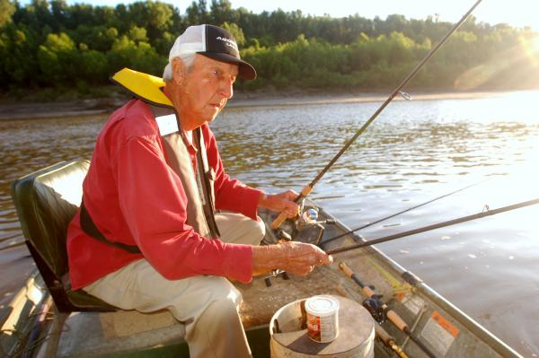 Missouri outdoors writer gets northern exposure on for Grand river fishing