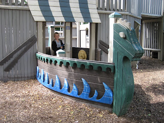 viking ship bed