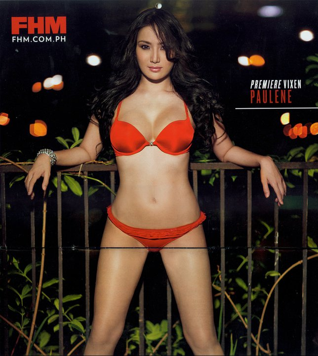 Pauleen So on FHM 2011 Calendar. Pauleen So as FHM 2011 Calendar girl.