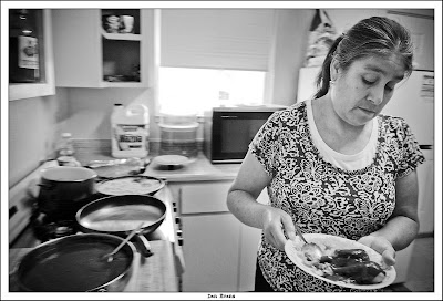 Ambient Focus Migrant Workers At Home