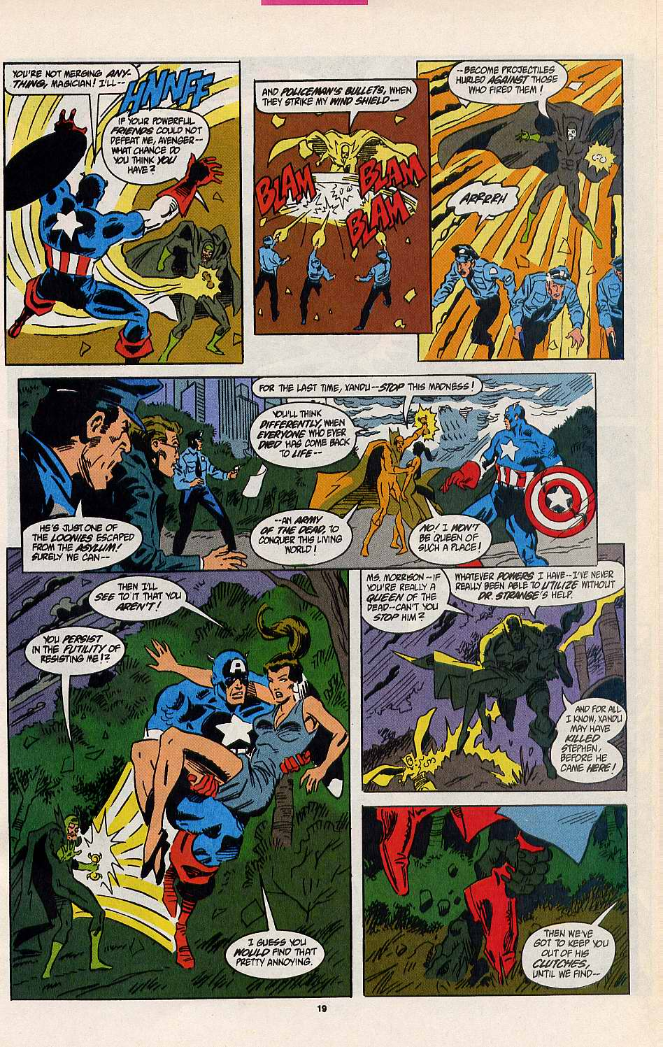 Read online Secret Defenders comic -  Issue #8 - 14