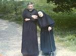 Père Serge de Marseille, et sa mère Moniale.