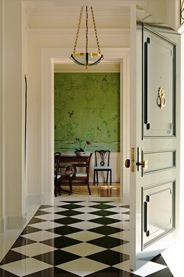 Vanessa and Valentine: Checkered Floors and Black Doors