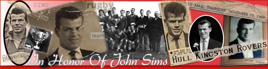 In Honor of John Sims