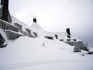 timberline lodge exterior deep snow