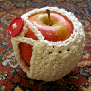 end of year teacher gift crochet apple cotton apple jacket