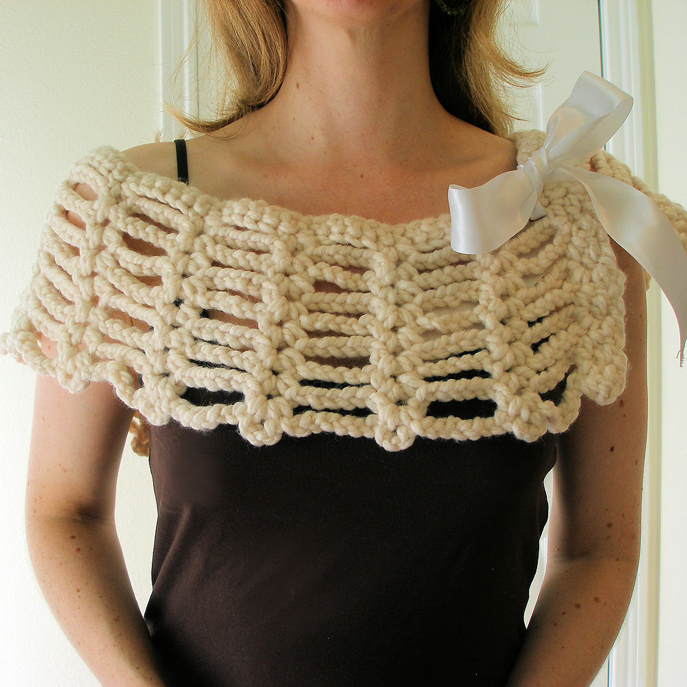 BEGINNER CROCHETED SHAWL PATTERN Crochet Patterns